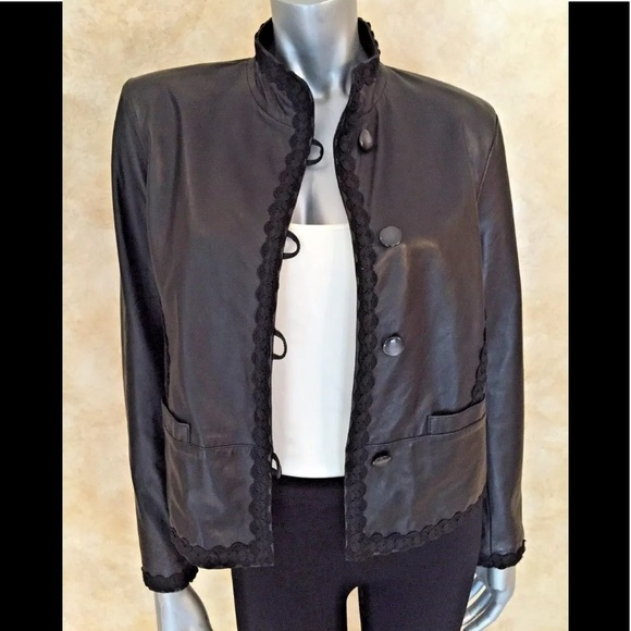 28e1dde23e93 Artico Jackets & Coats | Vintage Lambskin Leather Jacket Womens Size ...